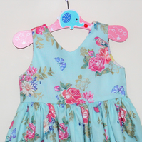 vintage children's party dress