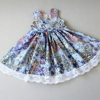 Fairies children's party dress - lace dress
