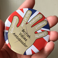 Custom Order - British Values Ambassador Badges