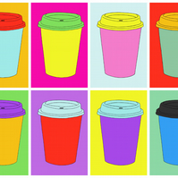 Another Cup of Coffee - Limited Edition Giclee Print A3