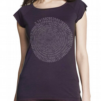 Pi women's bamboo T shirt