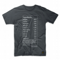 Chemical Elements of the Human Body men's T shirt