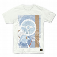 TAG Heuer Monaco No 1 Horology Art print -  men's T shirt