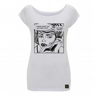 Protect Ya Neck Women's bamboo T shirt
