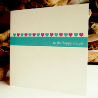 Wedding Card - to the happy couple