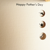 Fathers Day Card - can be personalised!