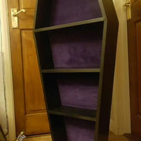 Coffin Curio Shelves