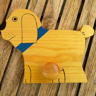 Childrens coat hook - Dog