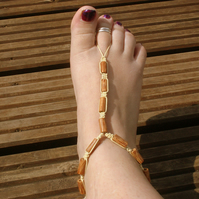 Foot accessories, footless sandels, foot and ankle accessories