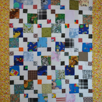 Patchwork Childs cot Quilt