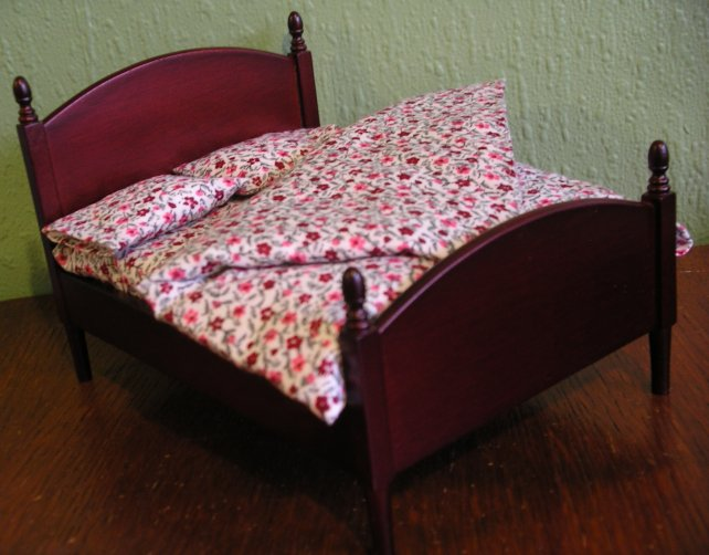 Dolls house double duvet set