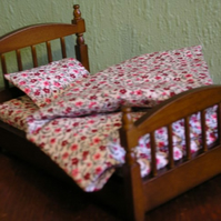 Dolls house single duvet set