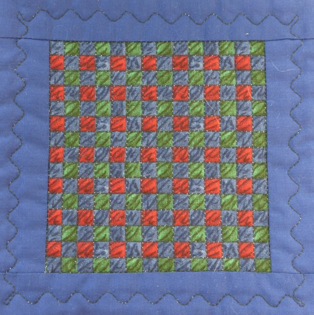 Dolls house  quilt