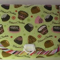 Folding bag with pockets sweets