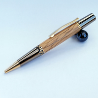 Zeta top twist pen in Olive