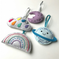 Lavender Bags- Moon, Planet, Cloud, Rainbow
