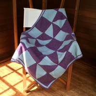 Crochet Patchwork Throw