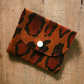 Leather Coin Card Purse - Leopard Print