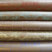 PATTERN WRAPPING PAPER (bundle of 3)
