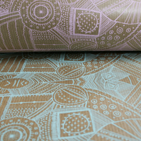 PATTERN WRAPPING PAPER (bundle of 5)