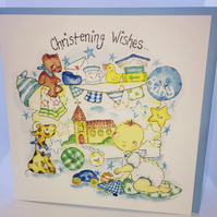 Christening Greeting Card
