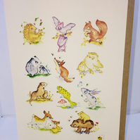 Woodland Greeting Card