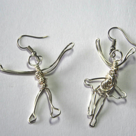 Mr & Mrs earrings