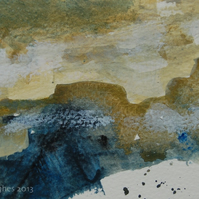 Bleak Moorland: Original landscape painting