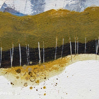 Birch Trees Original Painting