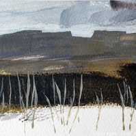 Landscape with moorland