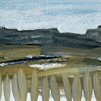 Peak District Gritstone edge - original landscape painting