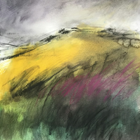 White Tor, Derwent Edge - ORIGINAL Peak District Landscape painting
