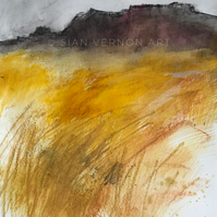 Millstone Edge - ORIGINAL Peak District Landscape painting