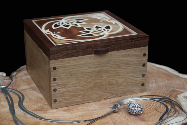 Lotus Flower Jewellry Box