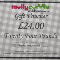 Twenty Four Pounds Gift Voucher Card