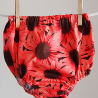 Sunflowers Pink Bloomers for Babies and Toddlers