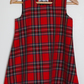SALE - Royal Stewart Tartan Pinafore Dress