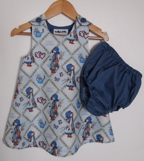 Classic Retro Baby Summer Dress & Bloomers