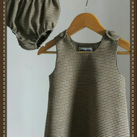 Country Style Tweedy Baby Dress