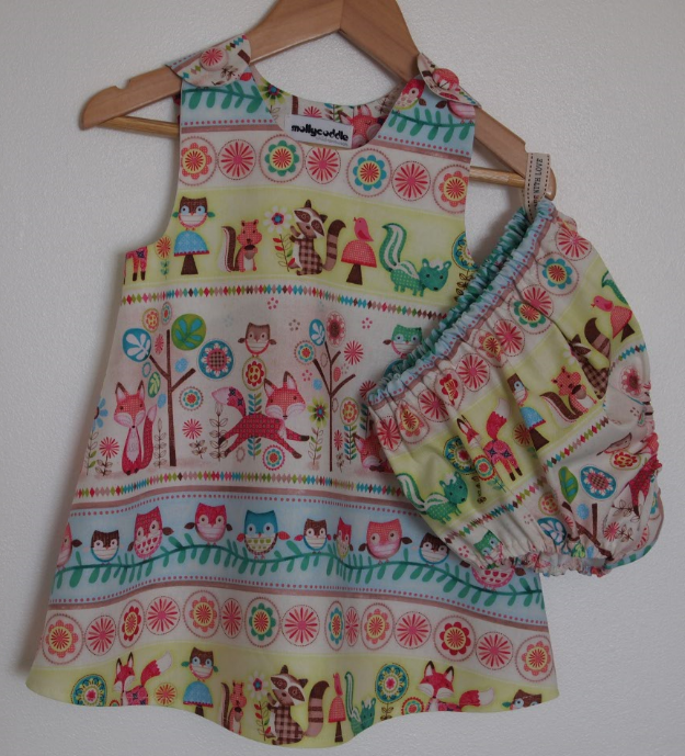 Baby Woodland Friends Dress