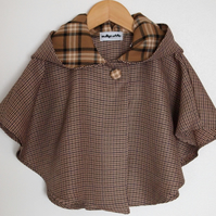 Country Style Baby Tweedy Cape
