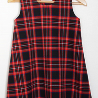 Tartan Check Dress