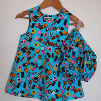 Cotton Liquorice Allsorts Baby Dress and Bloomers