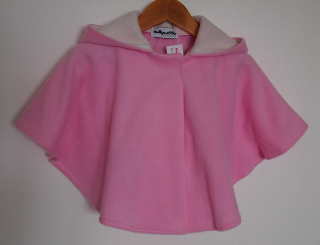 SALE - Babies Powder Pink Soft Cape