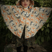Fawn Super Soft Foxy Fox Cape