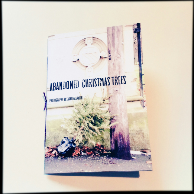Abandoned Christmas Trees: A very small book (zine) of Photographs