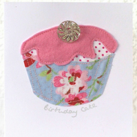 Strawberry Cup Cake Card