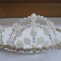 Tiara 'Winchester'. Swarovski crystals and diamanté.