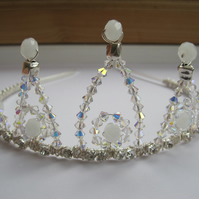 Tiara 'St. Albans'. Swarovski crystals and diamanté.
