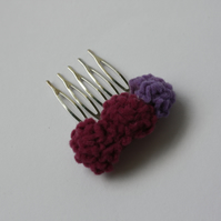 Felt Thrift Hair Comb